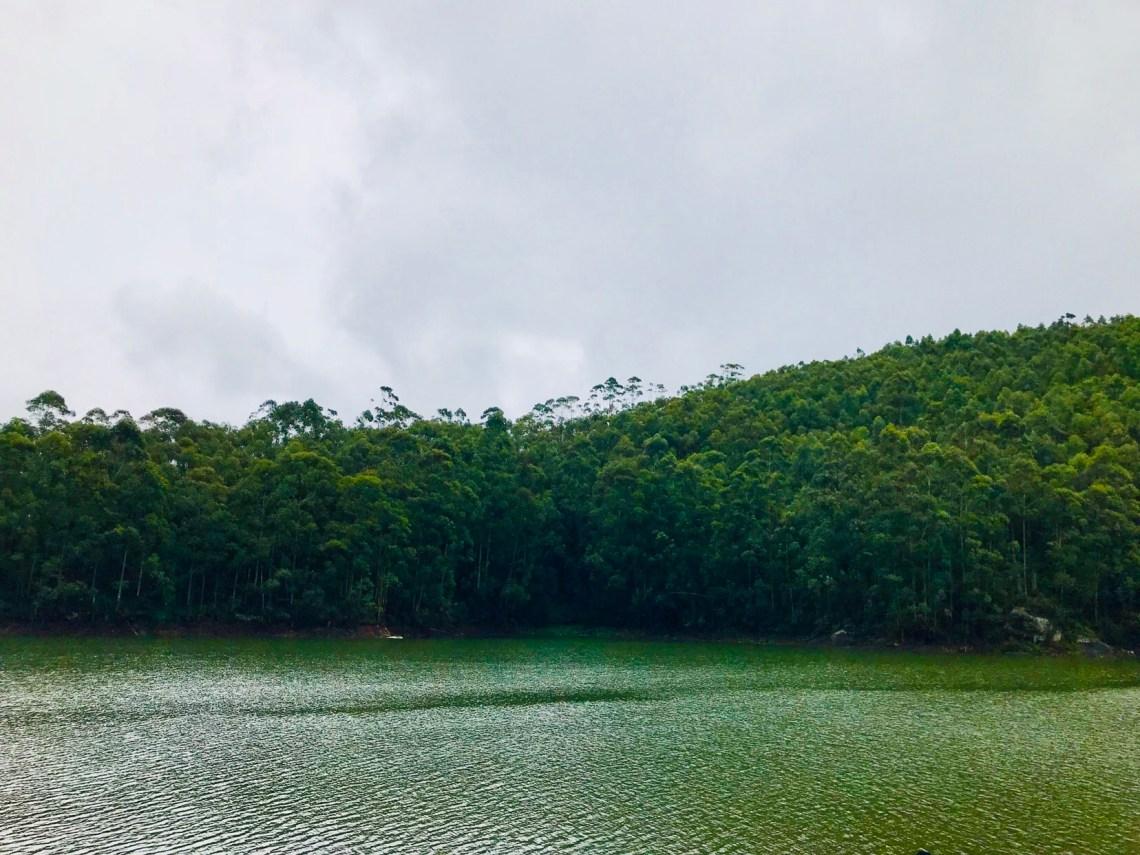 Kunadal Lake in Munnar.