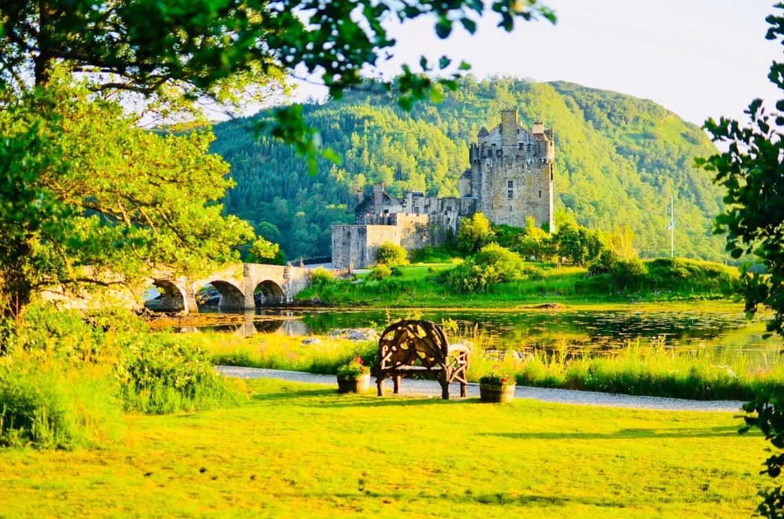Romantic and wonderful side of Eilean Donan castle