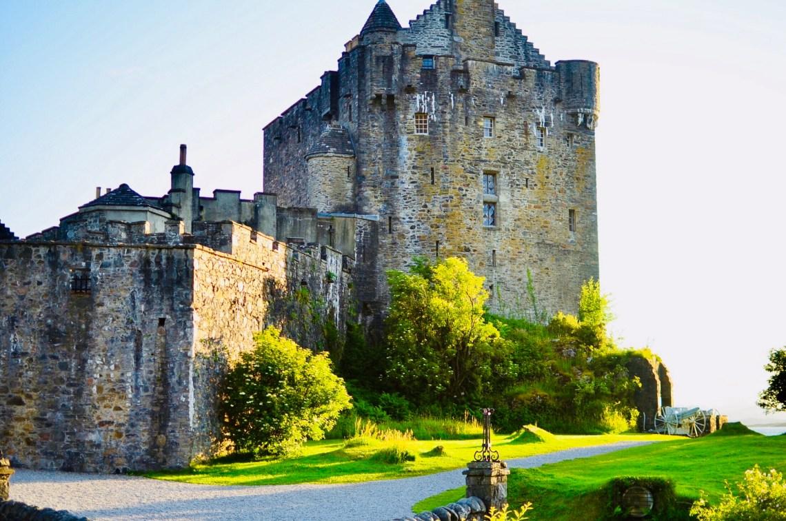 The fairy tale castle of Eilean Donan