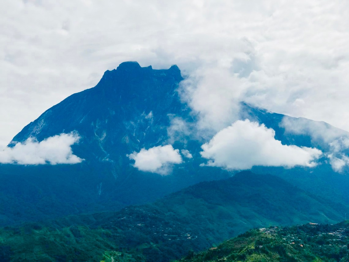 The beautiful Mount Kinabalu.