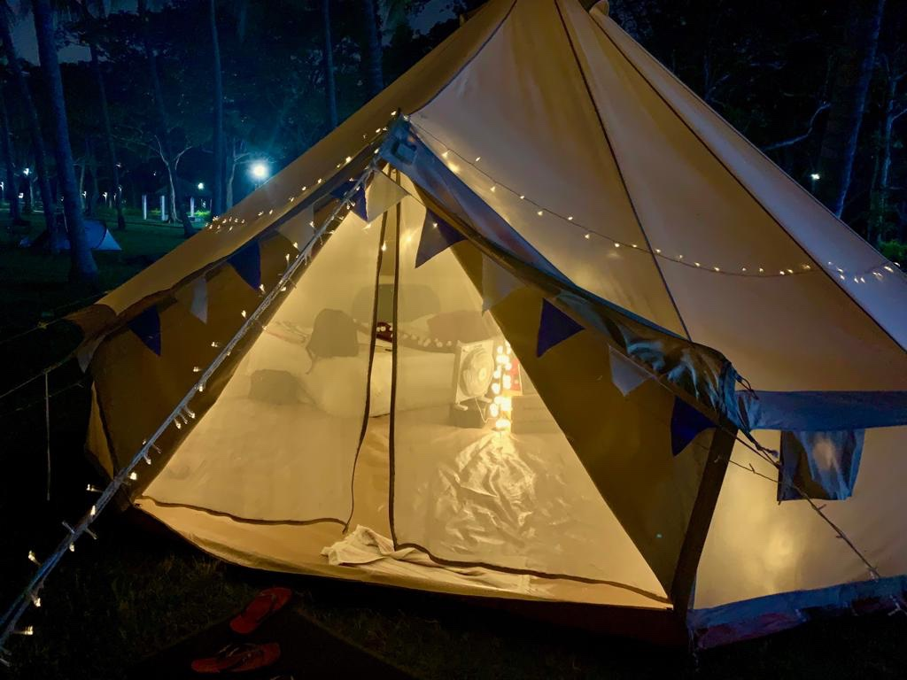 Luxury Unique Camping in Singapore.