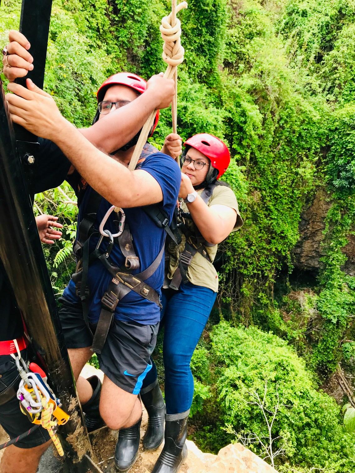 Jamblong cave exploration,  things to do in Yogyakarta.