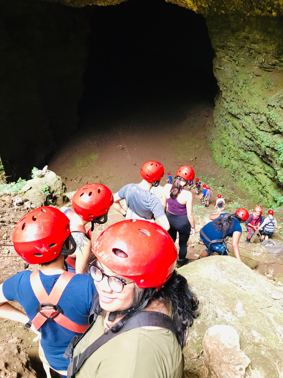 Jomblang cave exploration,  things to do in Yogyakarta.