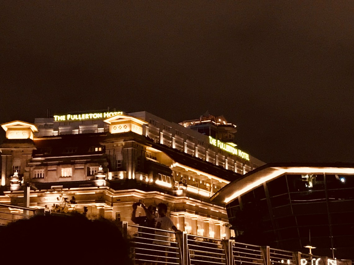 Where to stay in Singapore? The Fullerton Hotel