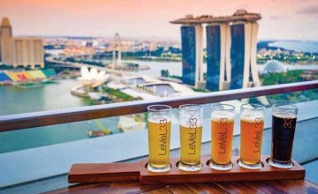Best Rooftop bar in Singapore.