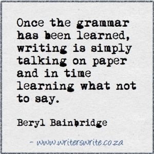once-the-grammar