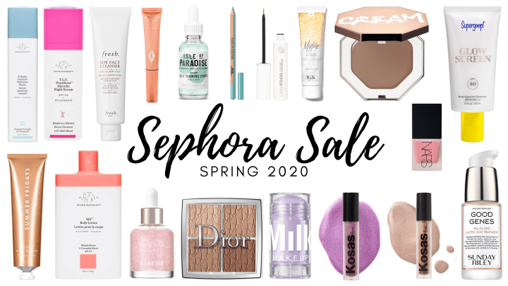 Sephora Sale Wish List: Spring 2020