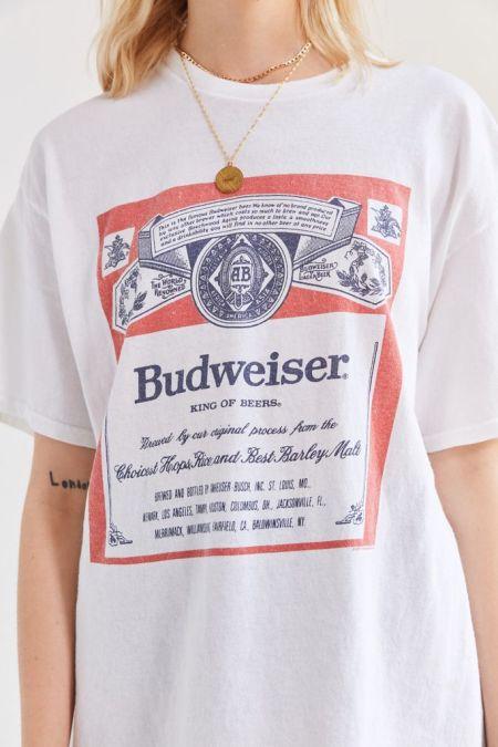 Budweiser King of Beers graphic tee