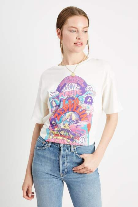 Led Zeppelin Electric Magic graphic tee