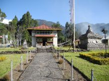 Entrance of Dubdi Monastery