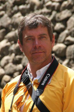 James Wilson, a great hiking partner