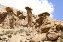 Stupendous rock formations