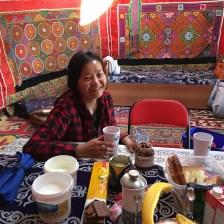 Tuul at breakfast