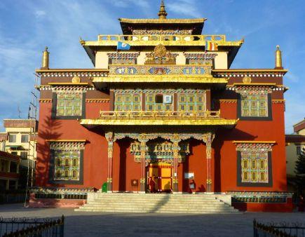 The Shechen Monastery, Boudhanath