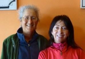 Cary with Caroline Martin