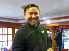 Tashi, manager of Shechen Guest House