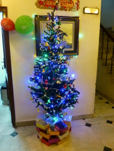 Christmas tree at the Wongdhen House