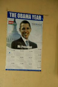 They LOVE Obama! These posters were everywhere….