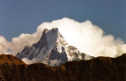 Machapuchare from Poon Hill, Annapurna trek