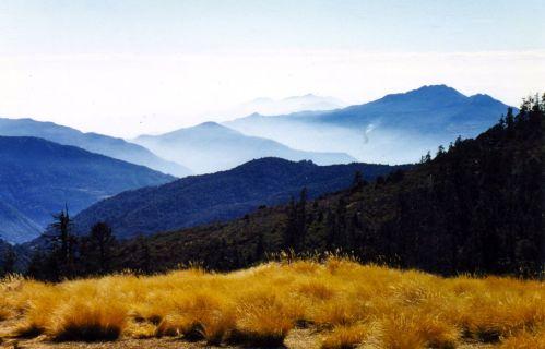 Typical landscape as we descended
