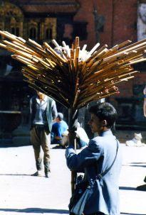 The ubiquitous flute salesmen
