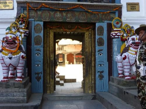 Durbar Marg, a feast of temples