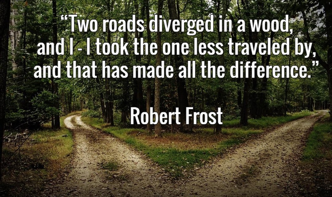 Open the right door, follow the path less traveled, get yourself in the right room- and it will make all the difference!
