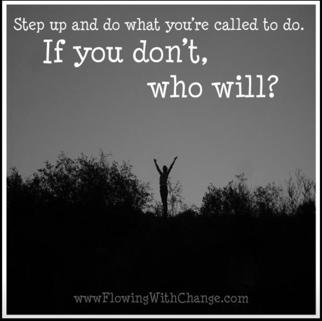 What will you look forward to today? You gotta empower yourself and start with something.
