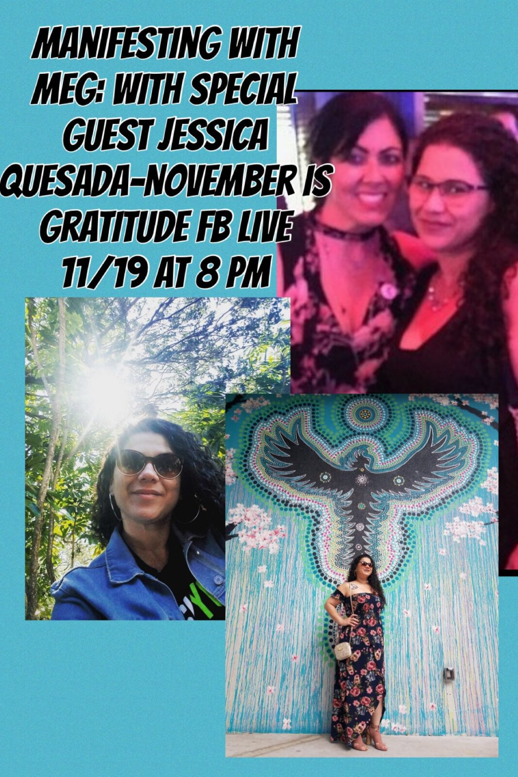 Manifesting with Meg: Lucky Episode 13-Attitude of Gratitude with Special Guest Jessica Quesada