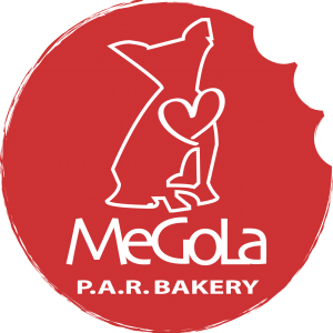 Megola ShareBisc Biscotti per Cani Ingredienti Naturali P.A.R.BAKERY Condividere Cane Uomo Ingredienti Biologici Marchio Megola
