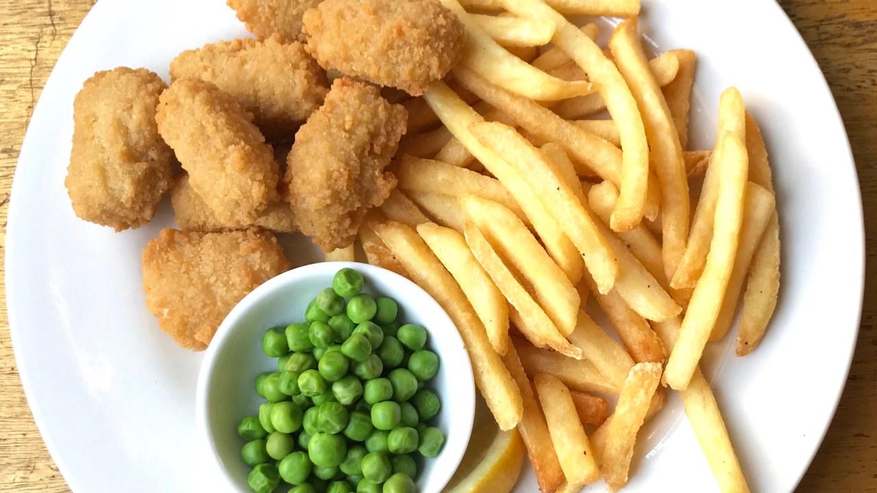 イギリス料理のフィッシュ&チップス