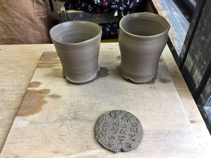 伊豆旅行で陶芸体験