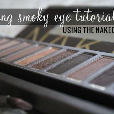 Evening Smoky Eye Naked Palette Tutoria