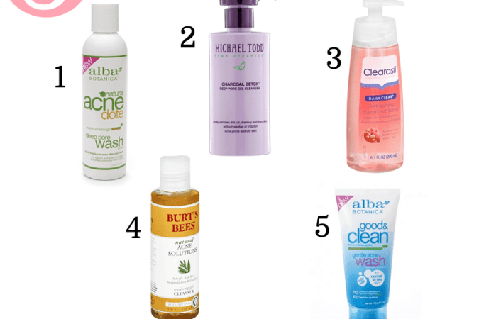 Skincare Sunday – 5 Blemish Busting Cleansers Worth Trying