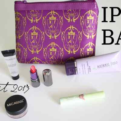 August 2013 Ipsy Bag