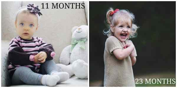 23 month compare