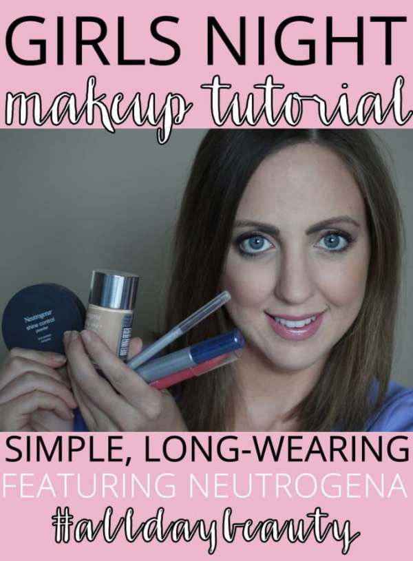 Neutrogena #AllDayBeauty Makeup Tutorial