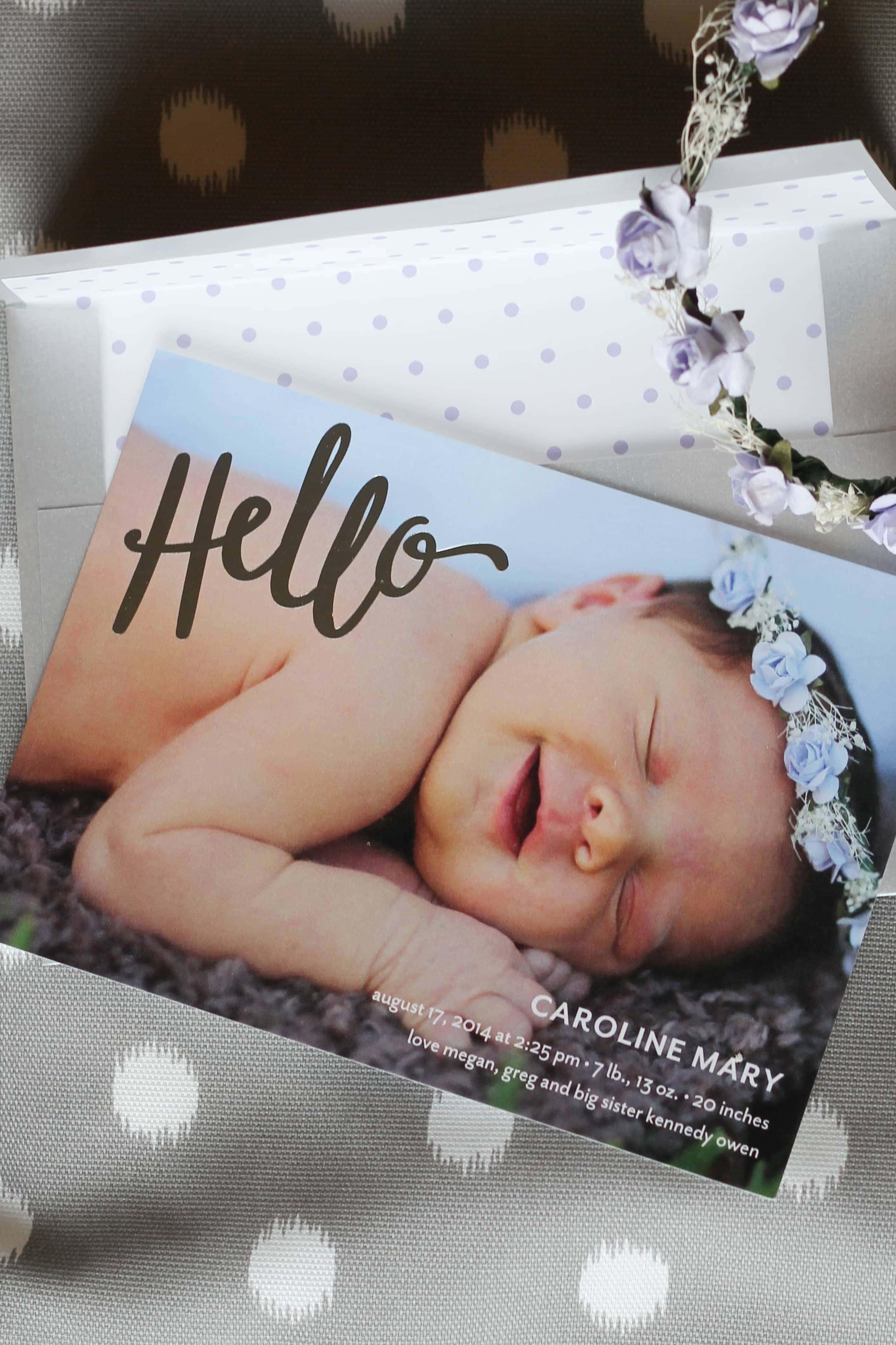 Tiny Prints Birth Announcements – Tiny Prints Birth Announcement