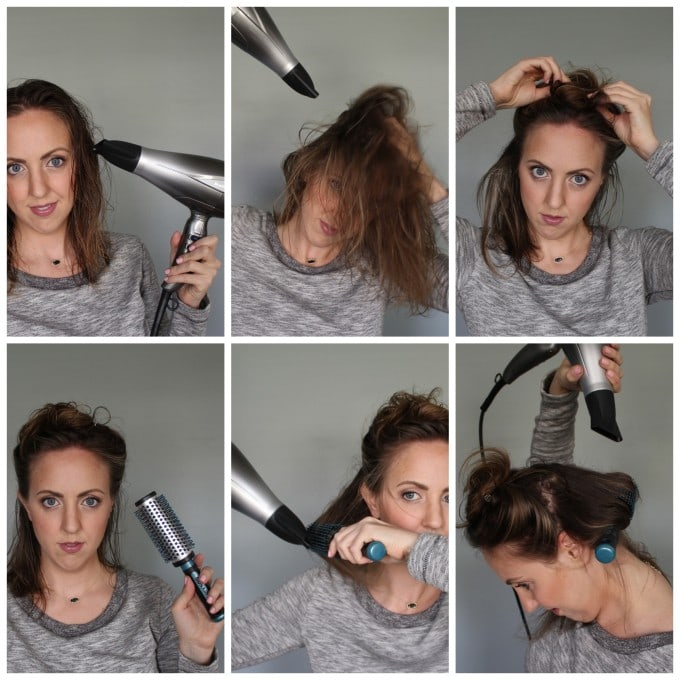 Everyday Looks, Blow Out Tutorial for Short Hair