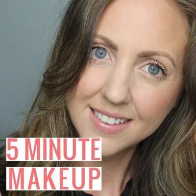 5 Minute Makeup