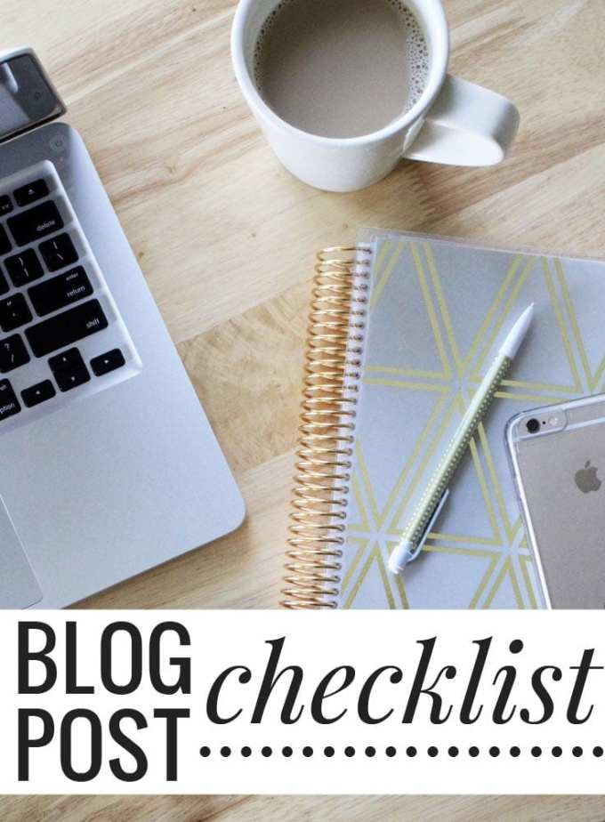 5 things to do every time you publish a blog post + a FREE checklist. Click through to get these tips and download the free PDF!