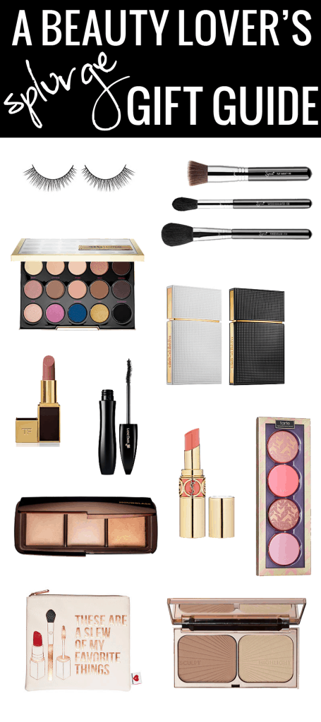 A Beauty Lover's Splurge Gift Guide - Need ideas for the beauty lover in your life? Want to splurge a little? I got you covered.