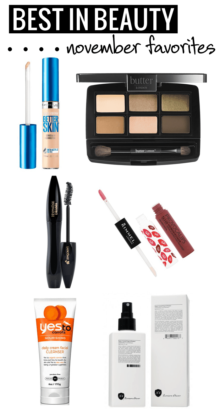 Best in Beauty - Maybelline, Butter London, Lancome, Rimmel, Yes To, Number 4