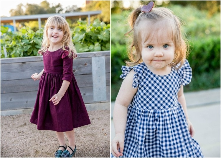 family photos - toddler girl outfit ideas