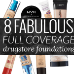 8 Fabulous Full Coverage Drugstore Foundation