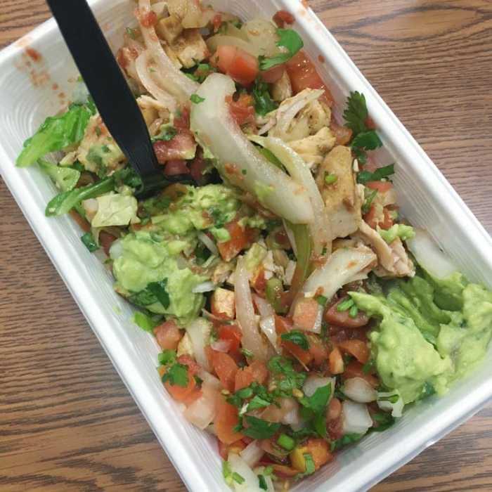 Whole30 Bullritos Salad Bowl