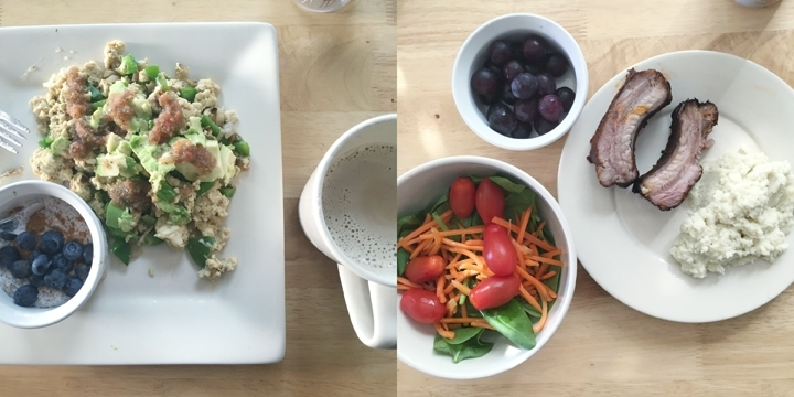 what I ate on whole30 day 3