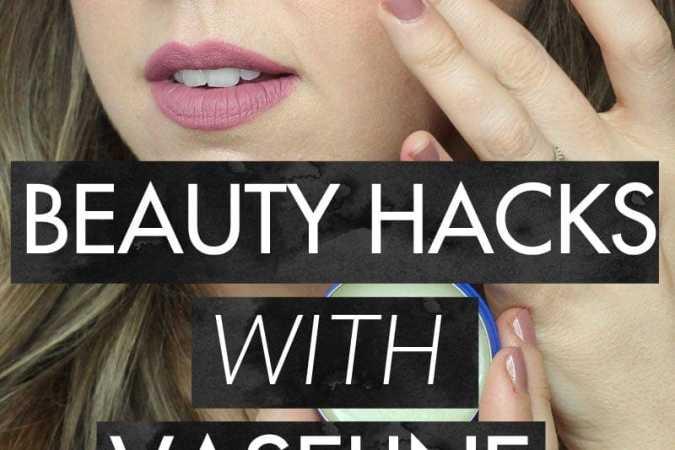 5 Beauty Hacks with Vaseline