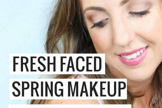 Fresh Faced Spring Makeup Look with Clinique