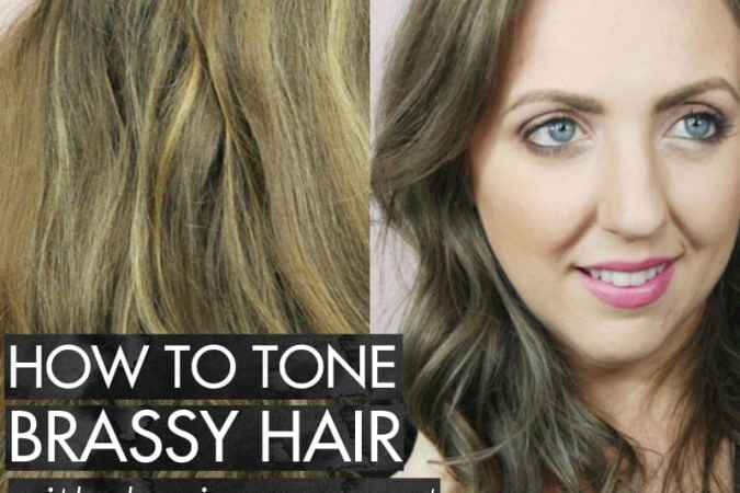 How to Tone Brassy Hair with Demi Permanent Hair Color
